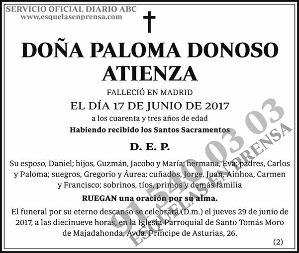 Paloma Donoso Atienza